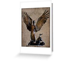 Avenging Angel Greeting Card