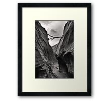 Unnamed Canyon Framed Print