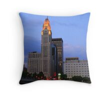 Lincoln LeVeque Tower Throw Pillow