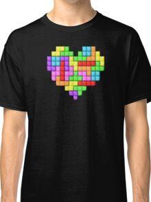 Tetris heart Classic T-Shirt