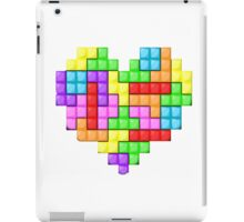Tetris heart iPad Case/Skin