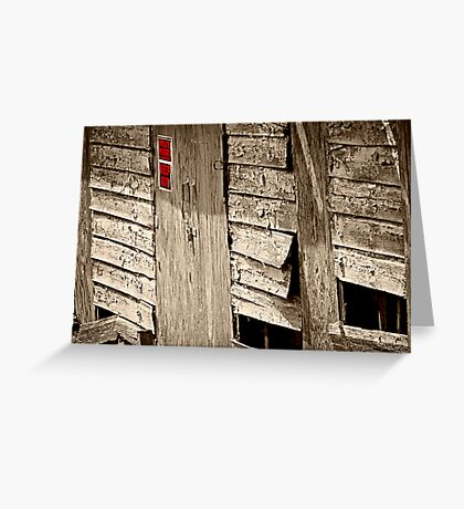 Posted: No Trespassing Greeting Card
