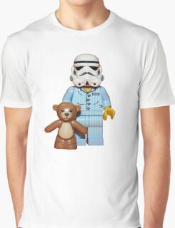 Sleepy Stormtrooper Graphic T-Shirt