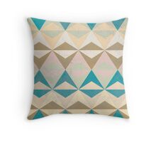 Triangle II Throw Pillow