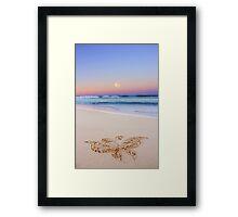 Bella Luna Framed Print