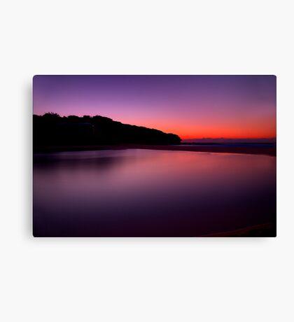 Sunrise at North Curl Curl Surf Club Canvas Print