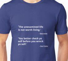 Hip-Hop Wisdom - Socrates & Ice Cube Unisex T-Shirt