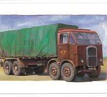 Scammell R8  by Mike Jeffries