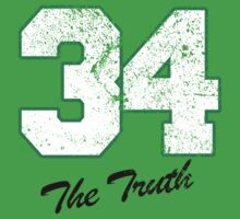 Celtics Numbers - The Truth no. 34 by JohnLucke