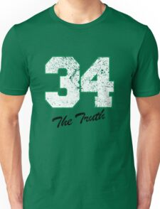 Celtics Numbers - The Truth no. 34 Unisex T-Shirt