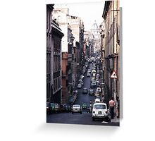 Rome Street Greeting Card
