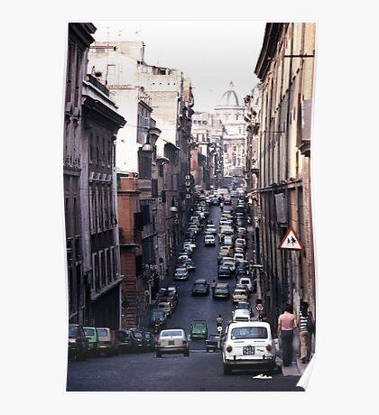 Rome Street Poster