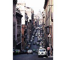 Rome Street Photographic Print