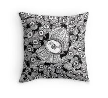 visual landscape Throw Pillow