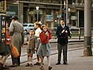 School children and monitor Bern  19570922 0002  by Fred Mitchell