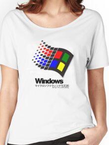 WINDOWS 95 Women's Relaxed Fit T-Shirt
