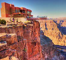 Grand Canyon Skywalk by Chris Brunton