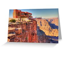 Grand Canyon Skywalk Greeting Card