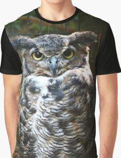 The Great Horned Owl Graphic T-Shirt