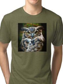 The Great Horned Owl Tri-blend T-Shirt