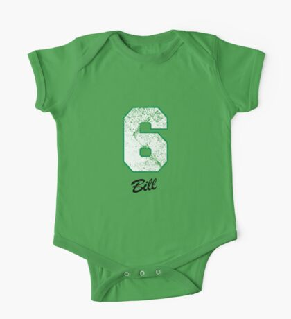 Celtics Numbers - Bill no. 6 One Piece - Short Sleeve
