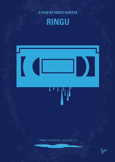 No070 My Ringu minimal movie poster by Chungkong