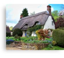 A Perfect Little Cottage Canvas Print