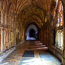 Gloucester Cathedral - the Harry Potter Cloisters by A3Art