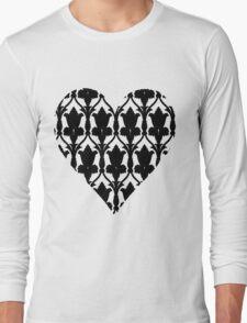 Sherlock Wallpaper Love Long Sleeve T-Shirt