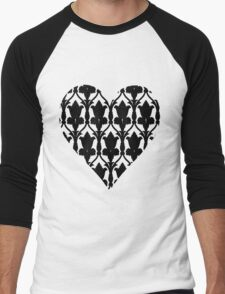 Sherlock Wallpaper Love Men's Baseball ¾ T-Shirt
