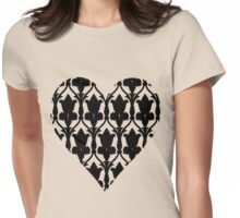Sherlock Wallpaper Love Womens Fitted T-Shirt