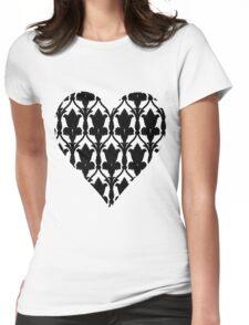 Sherlock Wallpaper Love Womens Fitted T-Shirt