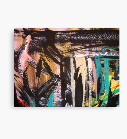 caribbean shack Canvas Print