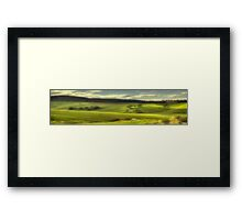 The Pastoral Symphony (25 Exposure Panoramic) - Somewhere Near Oberon - The HDR Experience Framed Print