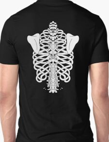 Shoulders and Spine Celtic Design White T-Shirt