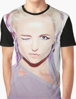 Kyla La Grange Portrait Graphic T-Shirt