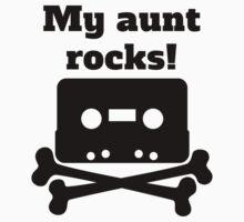My Aunt Rocks Baby Tee