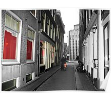 Red light district Amsterdam Poster
