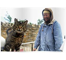 Masami and the Cat Poster