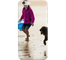 Filey seaside impression1 iPhone Case/Skin