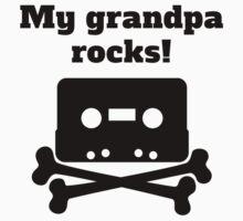 My Grandpa Rocks Kids Clothes