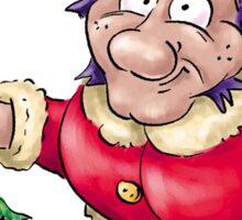 Strange Santa Claus Sticker