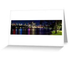 Brisbane from Kangaroo Point Greeting Card