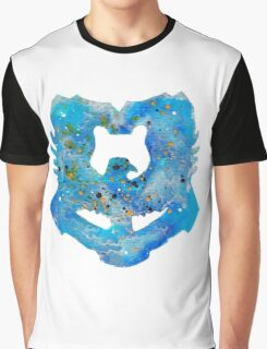 Ravenclaw House Crest Graphic T-Shirt