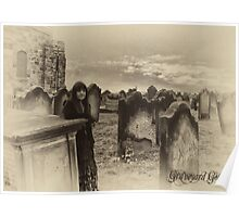 Graveyard Goth Poster