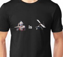 Ultraman is Airwolf Unisex T-Shirt