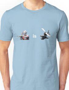 Ultraman is Airwolf Unisex T-Shirt