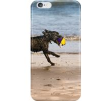 Dog &ball- Filey, iPhone Case/Skin