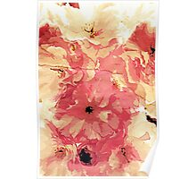 Vintage cherry blossom Poster