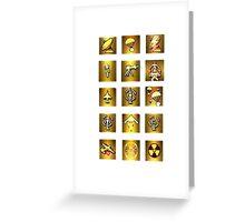 Modern Warfare Killstreak-App style Design Greeting Card